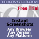 BrowserCam Screen Capture Service for Webmasters
