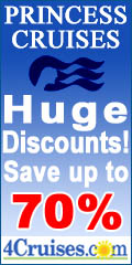 Save up to 70% on Princess Cruises