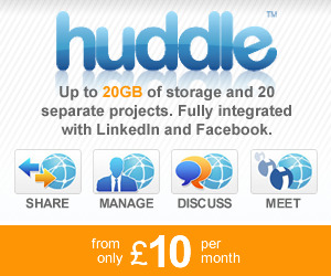 Huddle Collaboration Starting at £10 a month