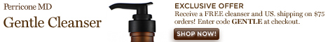 Perricone Gentle Cleanser 468x60
