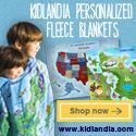 120x600 Kidlandia Skyscraper Fleece Blanket Logo