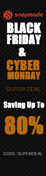 Snapmade 2015 - Black Friday & Cyber Monday up to 80% Off - 160*600