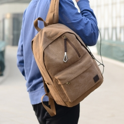New Deal - $19.99 for Unisex Fashion USB Charge Laptop Backpack for Travelling