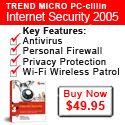 Buy PC-cillin Internet Security for $10 off