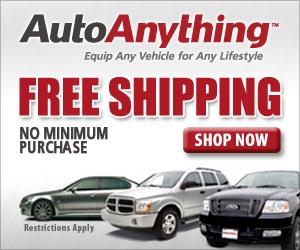Free Shipping!  No Minimum Purchase