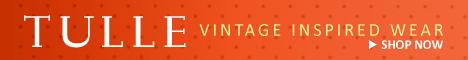 Tulle Vintage Style Wear