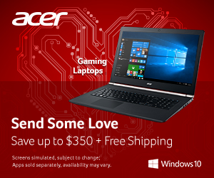 Gaming laptops on sale now!