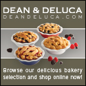 Enjoy delicious baked items from DEAN & DELUCA.