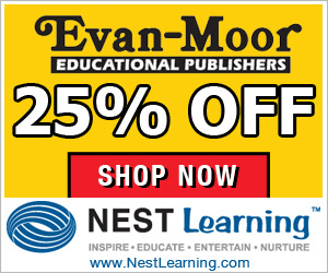 Evan Moor is 25% Off at NestLearning.com