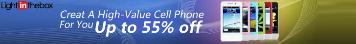 Get great prices on cell phones at LightInTheBox!