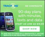 TracFone Promo codes for 90 Day Plans as low as $19.99