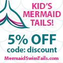 mermaid tails swimwear beach