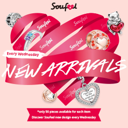New Arrivals Every Wednesday at Soufeel.com – Only 50 available pieces per item!