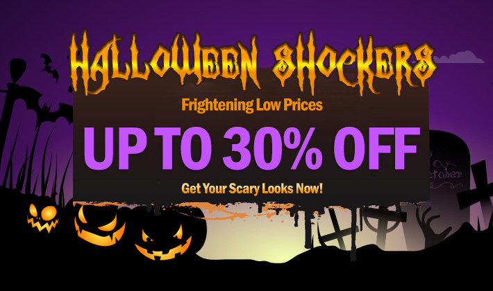 Halloween is coming! Up to 30% off just for you.
