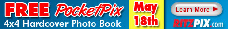 Free 4x4 Hardcover Photo Book from RitzPix.com!