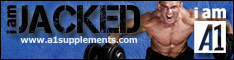 A1Supplements.com - i am JACKED. i am A1.