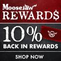 10% Back in Reward Points at Moosejaw