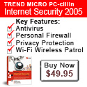 Protect yy PC with PC-cillin Internet Security for $10 off