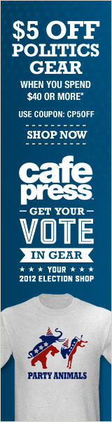 $5 off Political Gear from CafePress on orders $4