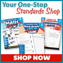 Common Core - Educational Supplemental Workbooks, Games, Activity Books