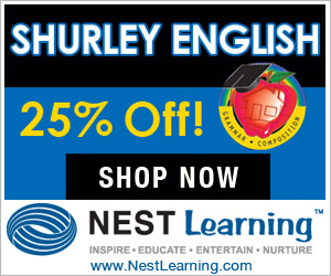 Shurley English is 25% Off at NestLearning.com