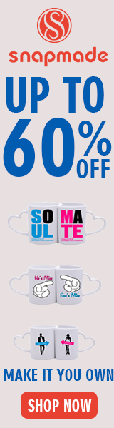 Snapmade Custom Office Products up to 60% Off Deals - 160*600