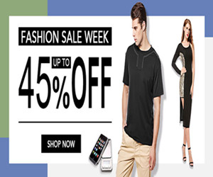 Get up to 45% off Fashion Sale Week.