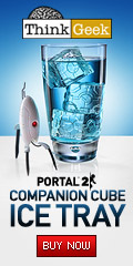 Portal 2 Companion Cube Ice Tray