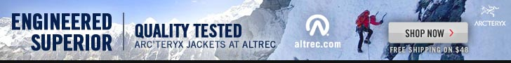 Engineered Superior, Quality Test - Arc'teryx Jackets at Altrec