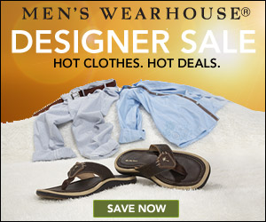 Men's Wearhouse Designer Sale