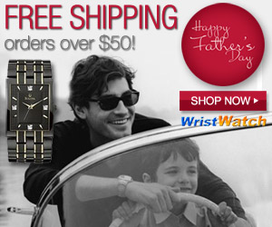 Free Shipping Over $50 at WristWatch.com!