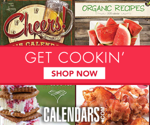 Shop Food, Drink, and Recipe Calendars Now!