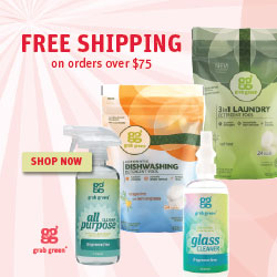Grab Green - Free Shipping on purchases over $75