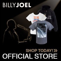 Billy Joel Official Store - Shop Today