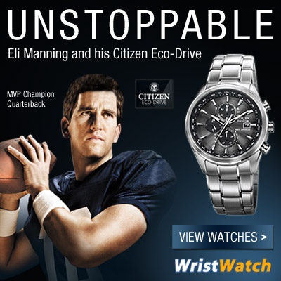 Eli Manning Mens Sports Watch