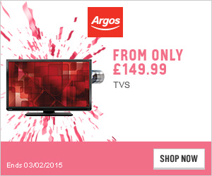 Save £150 on selected Large screen Televisions. Plus FREE delivery on all Televisions