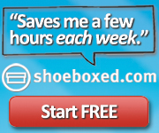 Save me hours each week! - Shoeboxed.com
