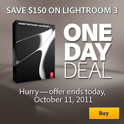 50% off Adobe Photoshop Lightroom