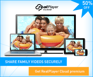 Move family videos to all your devices. Get realplayer cloud free