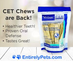 Virbac CET Dog Chews On Sale Now