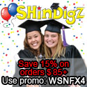 Save 10% on Graduation supply orders $85