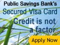 Click Here to get you Public Bank Secured Visa Card
