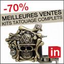 -70% sur Meilleures Ventes Kits Tatouage Complets