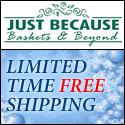 Free Shipping on Select Gift Baskets