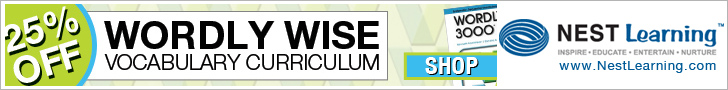 Wordly Wise Vocabulary Curriculum is 25% Off at NestLearning.com