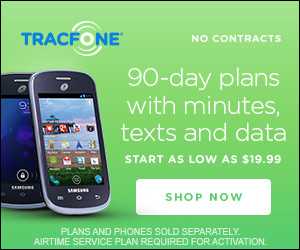 TracFone Wireless promo codes for Top Seller! 90 Day Plans as low as $19.99