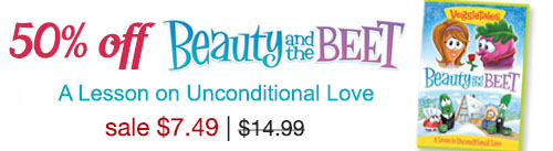 Buy the newest Veggie DVD: Beauty & the Beet, available October 11