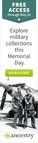Ancestry Free Access for Memorial Day