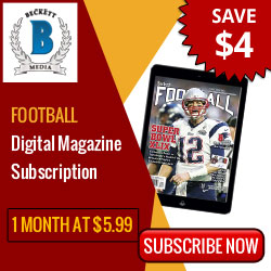 Football Digital Magazine 1 Month Subscription at $5.99