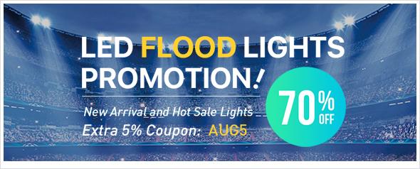 5% Off Floodlight At Lightingever.com